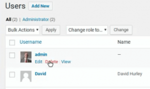 How to change your WordPress admin username